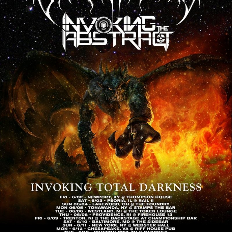 INVOKING THE ABSTRACT: Instrumental Tech Metal Collective Announces US Tour With Enfold Darkness
