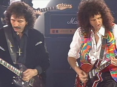TONY IOMMI Finds 'About 500' Riffs While Hanging Out With QUEEN's BRIAN MAY