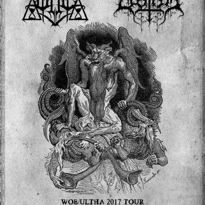 WOE: US Black Metal Unit Kicks Off European Tour With Ultha This Thursday