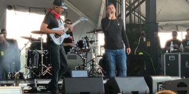 SERJ TANKIAN Joins TOM MORELLO For 'Like A Stone' Performance At SONIC TEMPLE (Video)