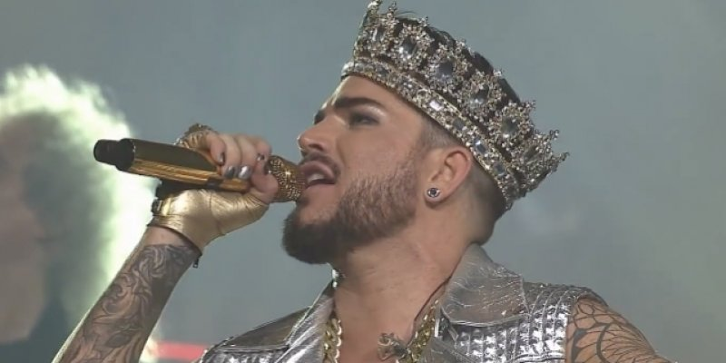 LAMBERT TALKS NEW QUEEN MUSIC
