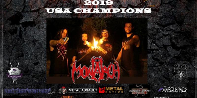 San Diego's MONARCH Crowned 2019 Champions of Wacken Metal Battle USA & To Play Wacken Open Air