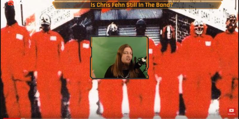 New Slipknot mask reveal tommorow | Is chris fehn still in the band?