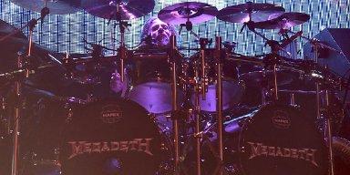 Chris Adler's Megadeth Drum Kit Destroyed in Fire