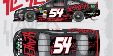 Slayer, Joins Rick Ware Racing as Primary Sponsor on the No. 54 at Bristol Motor Speedway