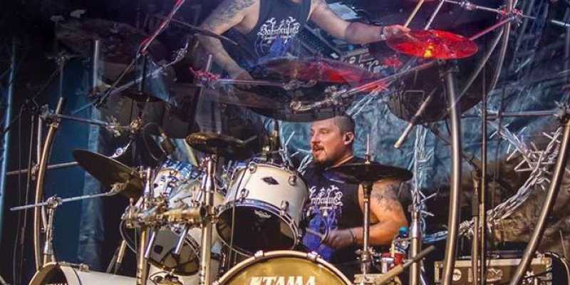 "DIMMU BORGIR Drummer Daray ""The Chosen Legacy"" Drum Cam Video From Rockstadt Festival Available!"