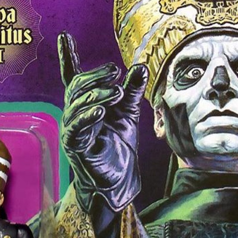 Ghost's Papa Emeritus III Action Figure Now Available