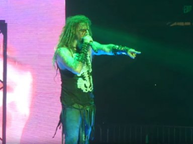 Rob Zombie Grabs Woman By Hair Shoves Her After She Pulls On His Shirt