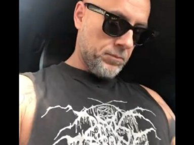Nergal Confronted At YMCA For Wearing DARKTHRONE Shirt & Kicked Out Not Believing In Jesus