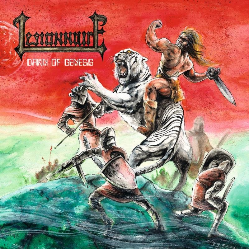 Finnish Trad-Metallers LEGIONNAIRE to Release Debut Album in May on Gates of Hell Records
