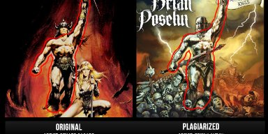 Sad But True: Plagiarism in Heavy Metal Art