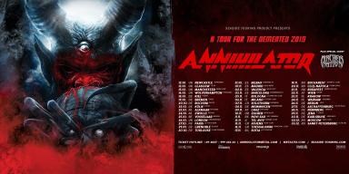 ANNIHILATOR/ ARCHER NATION EUROPEAN TOUR