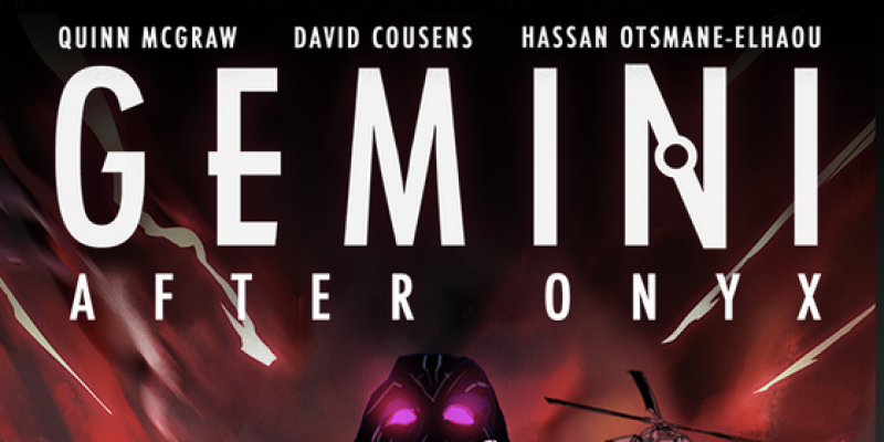 """Progressive metalcore outfit Living Machines expand on their sci-fi lore with the release of their first comic book """"Gemini: After Onyx, Issue 1"""""""