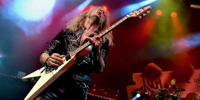 K.K. DOWNING Looks Back On Controversial 'Turbo' LP: 'It Wasn't The Big-Selling Album That We Hoped For'