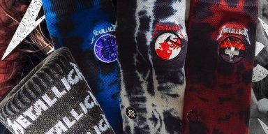 METALLICA Announce Line Of Socks