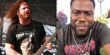 GARY HOLT Gives KEVIN HART Permission To Wear EXODUS T-Shirt