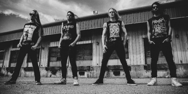 "CANADIAN THRASH QUARTET HAZZERD PREMIERE VIDEO FOR ""VICTIM OF A DESPERATE MIND"""