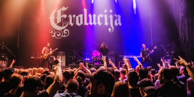 EVOLUCIJA Release Official Live Video For 'Metamorphosis'!