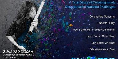 Screen Jason Becker's Film Not Dead Yet, Plus Q&A, Meet & Greet, Official Merchandise & Art Sale