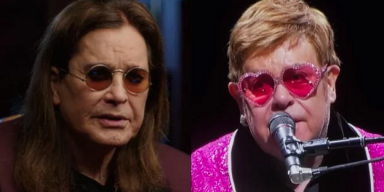 OZZY AND ELTON ARE COLLABORATING