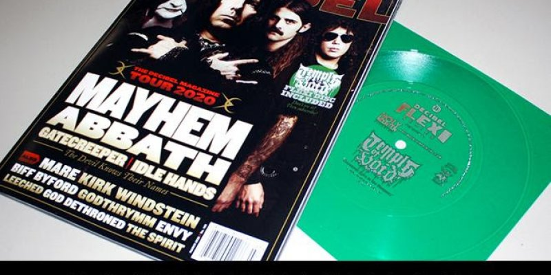 The Decibel Magazine Tour Issue Featuring MAYHEM, ABBATH, GATECREEPER and IDLE HANDS Has Arrived!