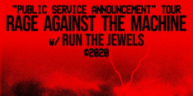 RAGE AGAINST THE MACHINE Announce 40-Date World Tour