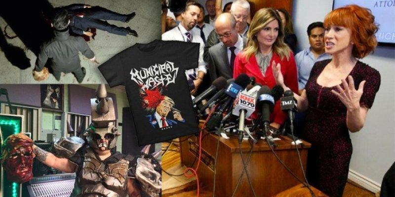 Kathy Griffin's Lawyer Throws Marilyn Manson, GWAR, Municipal Waste under the bus