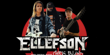 DAVID ELLEFSON AUSTRALIA/ JAPAN TOUR