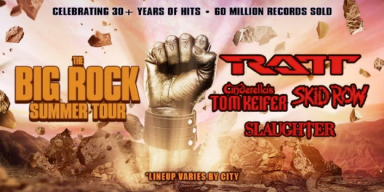 RATT, KEIFER, SKID ROW, SLAUGHTER: TOUR DATES