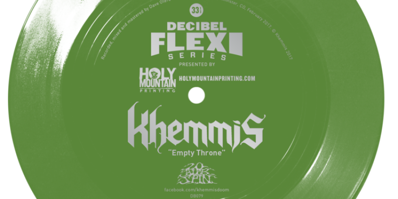 "Stream this new track from Khemmis ""Empty Throne"""