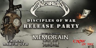 """DREAMLORD – album review of """"Disciples of War"""" via Angels PR Music Promotion"""