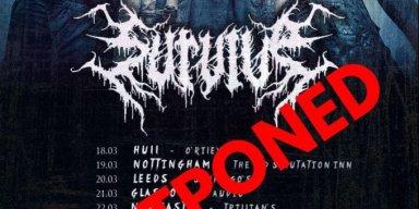 SURVIVE Postpone UK&Baltic Tour Due To Coronavirus Crisis!