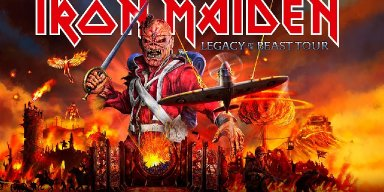 IRON MAIDEN Tour Postponed Over Coronavirus
