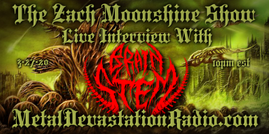 Brain Stem Will Be Doing A Live Interview On The Zach Moonshine Show!