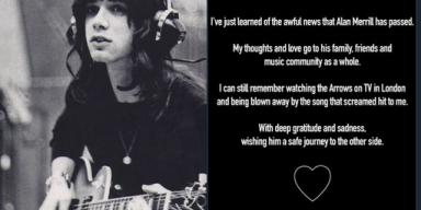 ALAN MERRILL Dies From Covid-19, Joan Jett Mourns