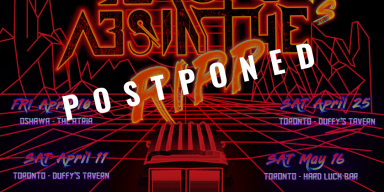 BLACK ABSINTHE Postpones Ontario Tour Dates