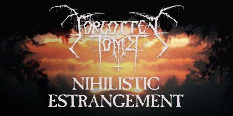 "FORGOTTEN TOMB premiere title track from new album ""Nihilistic Estrangement"""