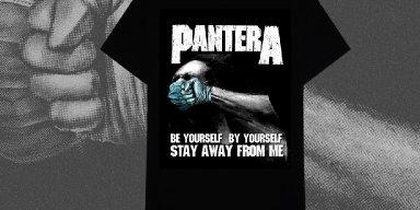 Pantera's Social Distancing Shirt