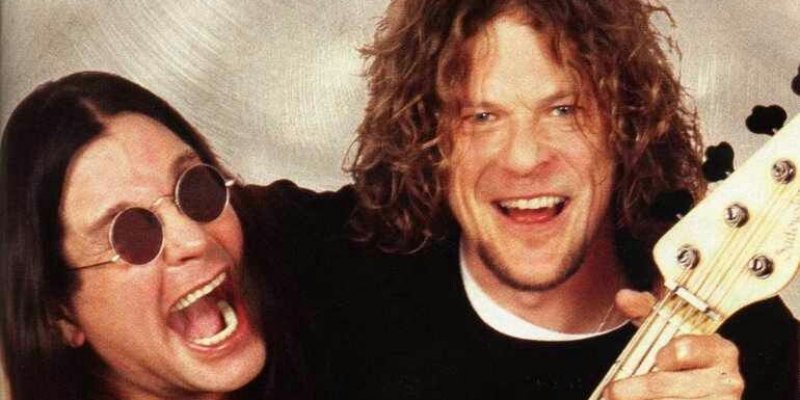 When Jason Newsted Played bass In Ozzy's Band!