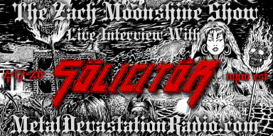 Solicitor Will Be Joining The Zach Moonshine Show on MDR This Friday!