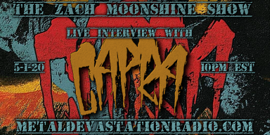 CAPRA  Will Be Joining The Zach Moonshine Show 5-1-20