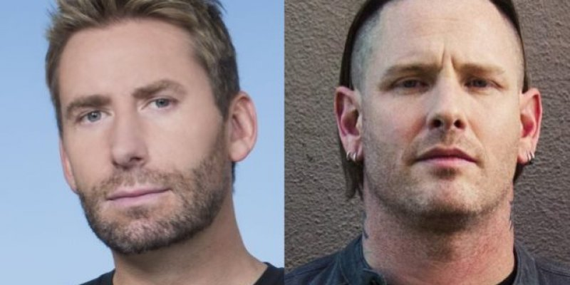 CHAD KROEGER Challenges COREY TAYLOR!