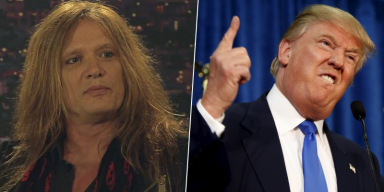 SEBASTIAN BACH: 'Voting For TRUMP Makes You A F**king Idiot'