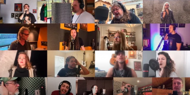 GRIM REAPER, FIREWIND, CYHRA, MASTERPLAN Join Forces For Epic Metal Cover Of 'We Are The World'