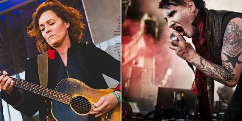 Marilyn Manson Wants to Record a Judy Garland Song With Brandi Carlile