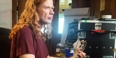 Dave Mustaine Thanks Marijuana for Helping with Cancer Treatment