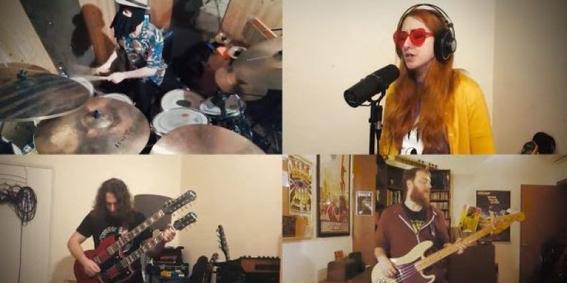 Members of Gramma Vedetta, Aliceissleeping and King Bong release cover of Rush's Xanadu