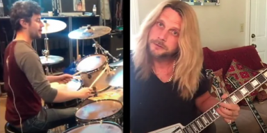 JUDAS PRIEST's RICHIE FAULKNER Plays IRON MAIDEN's 'To Tame A Land' While In Quarantine