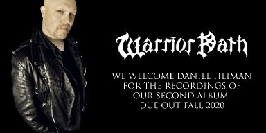 DANIEL HEIMAN.....the new voice of WARRIOR PATH!!!