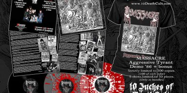 "MASSACRE: Pre-order for 10"" vinyl & T-Shirt available now"